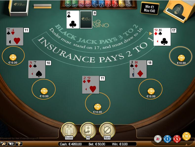 Blackjack online casinos astuce casino celadopole