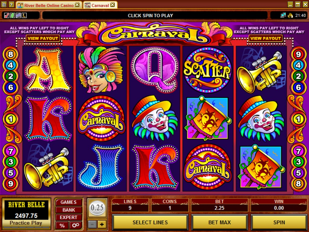 Casino promotions slot games for free @ Rivers Casino4Fun - Play now