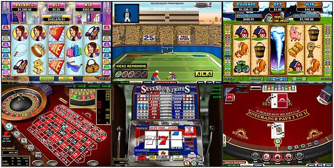 online casino games reviews gaming