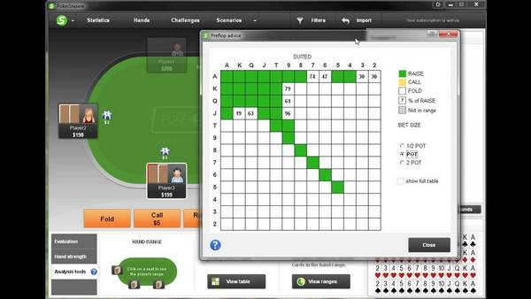 PokerSnowie screenshot